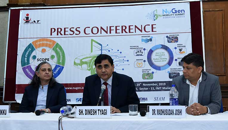 NuGen Mobility Summit-2019 begins at Manesar on Nov 27