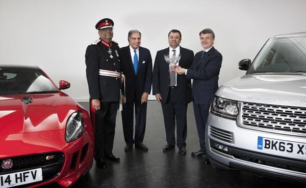 Queen S Award For Jaguar Land Rover Tata S Group News