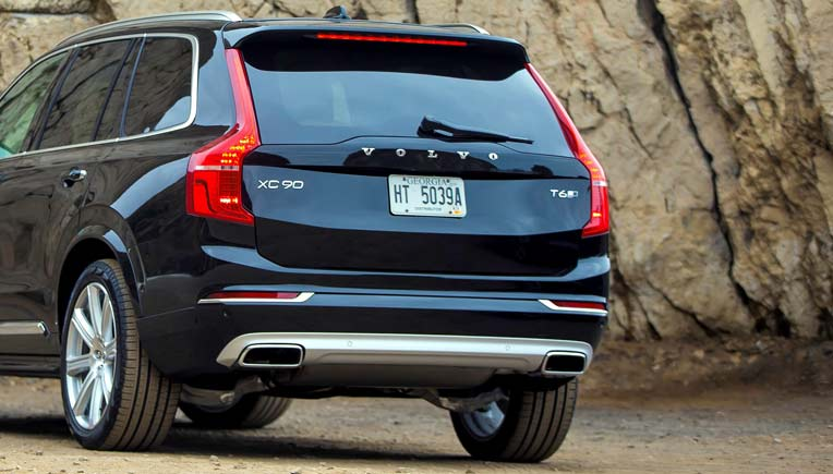 Most upmarket cars with reverse parking cameras and sensors; Pic of Volvo XC90 for representation purpose only
