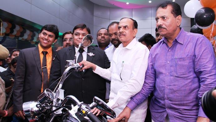 Inauguration of Regal Raptor showroom in Hyderabad