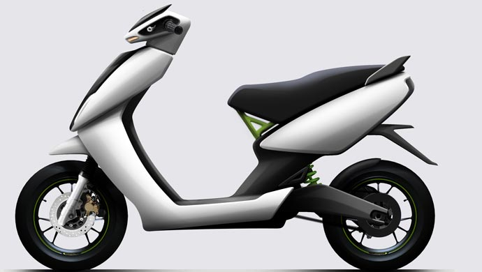 Electric scooter from Ather Energy
