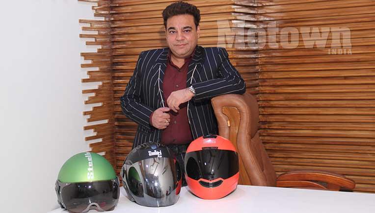 Rajeev Kapur, MD, Steelbird Helmets