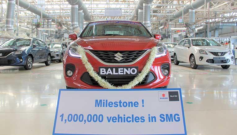 Suzuki's Gujarat Plant reaches 1 million units production milestone