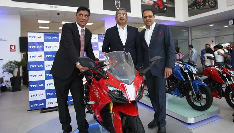 TVS Motor Company expands presence in Peru with 3 new product launches