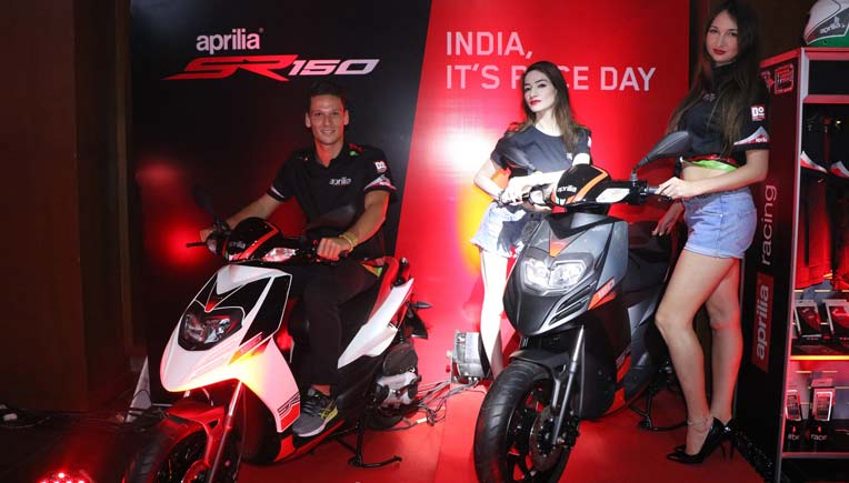 Will the crossover from Aprilia redefine the two-wheeler market? Pic for representation purpose only