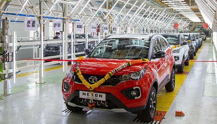 Tata Motors rolls out the 1,50,000th Nexon SUV