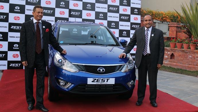 Johnny Oommen, Head – International Business, Tata Motors with Siddharth Rana, Chairman,