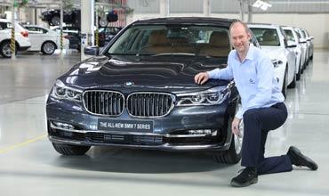 50,000th BMW rolls out of BMW plant in Chennai