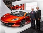 AkzoNobel secures McLaren Automotive supply deal