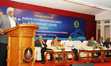 Amrita University launches auto research centre