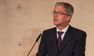 Audi CEO Stadler wants more walls to be torn down