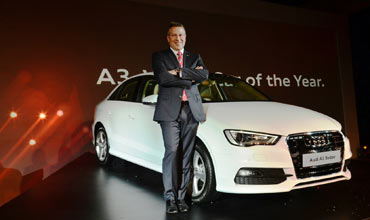 Audi India ends 2014 with record sales of 10851 units