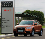 Audi Q3 assembly operations kick off in India