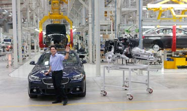 BMW assembles cars with 50 pc local content in Chennai plant