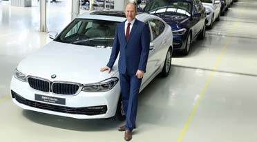 BMW rolls out first ever 6 Series from Chennai plant