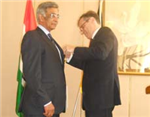 Baba Kalyani conferred Cross of the Order of Merit