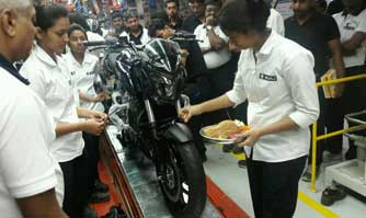 Bajaj Auto commences production of its most powerful bike ever