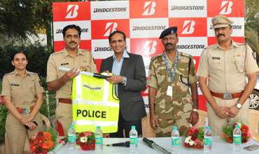 Bridgestone India, Pune police join hands for road safety