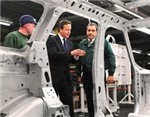 British PM David Cameron visits JLR facility