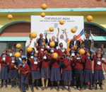 Chevrolet India donates to disadvantaged children