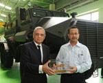 DLSI presents its MPV-I to Jharkhand Police