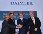 Daimler Financial Services launched in India