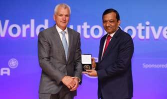 Dr. Pawan Goenka awarded 2016 FISITA Medal