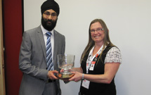 Dr. Rai Notay gets award on lubrication research