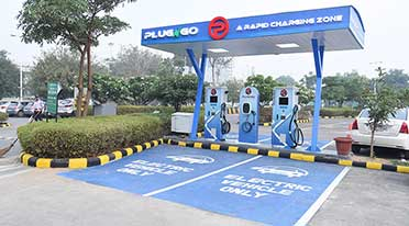 EV Motors India launches 1st public EV charging outlet 'PlugNgo'