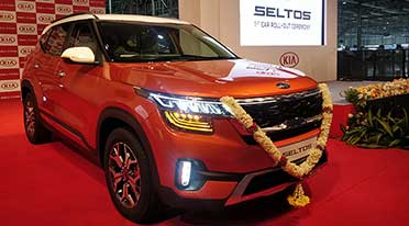 First Kia Seltos rolls out of Anantapur plant
