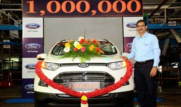 Ford India's Chennai plant produces one millionth vehicle and engine