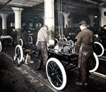 Ford's 100th Anniversary of moving assembly line