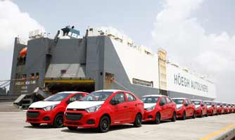 GM India begins shipment of Chevrolet Beat sedan to Latin America