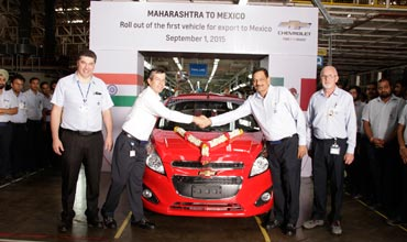 GM India-made Beat models ready for exports to Mexico