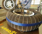 """Goodyear and NASA Honored For """"Spring"""" Tire"""