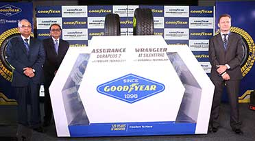 Goodyear new range of tyres for cars & SUVs