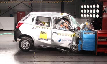 Government plans crash test norms for cars