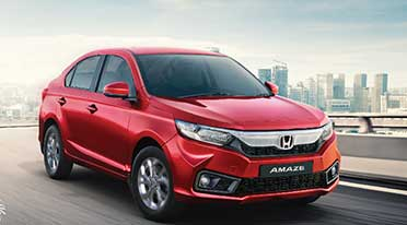 Honda Amaze crosses 4 lakh cumulative sales milestone in India