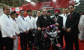 Honda CB Shine crosses 50 lakh units milestone in India