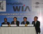 Hyundai WIA kicks off its India operations