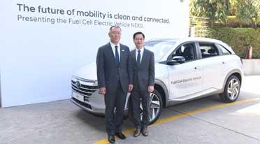Hyundai showcases next-generation fuel cell electric vehicle- Nexo, Ioniq