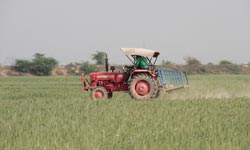 ICRA says tractor industry to grow 4pc-6pc in FY15