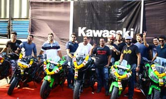India Kawasaki Motor plays good sport with 13 customers