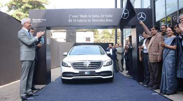 India's first BS VI compliant vehicle- Mercedes-Benz S 350 d