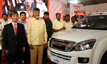 Isuzu Motors inaugurates new plant in SriCity in Andhra Pradesh; Launches V-Cross