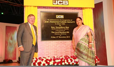JCB India inaugurates two new factories in Jaipur