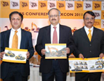 JCB India showcases its new products at EXCON 2011