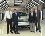 JLR inaugurates new vehicle assembly unit in India