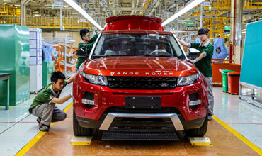 Jaguar Land Rover 1st overseas manufacturing facility