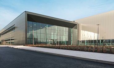 Jaguar Land Rover opens engine plant in UK